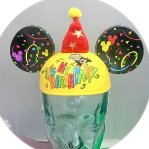 Disney Mickey Mouse Ears Birthday Hat